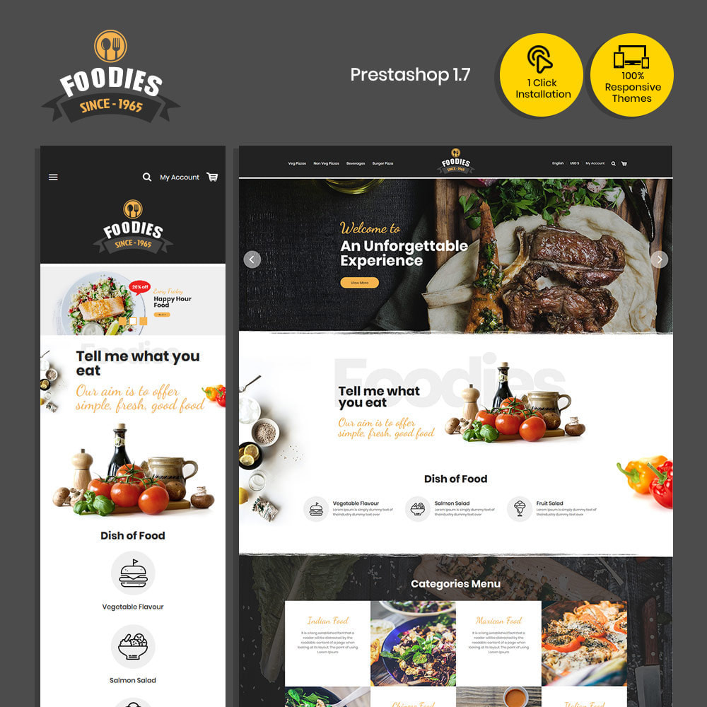 theme - Cibo & Ristorazione - Food Burger - Pizza Food Store - 2