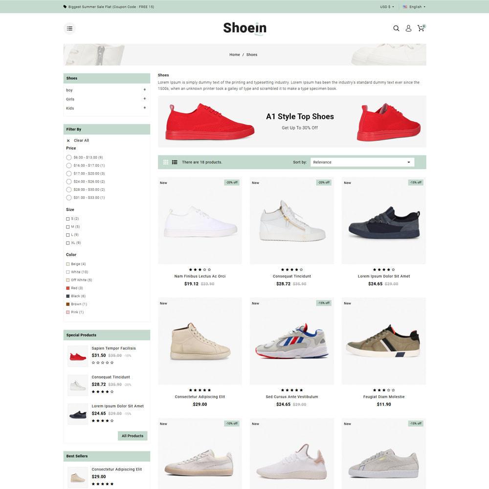 theme - Mode & Schuhe - Shoein - Shoes Store - 3