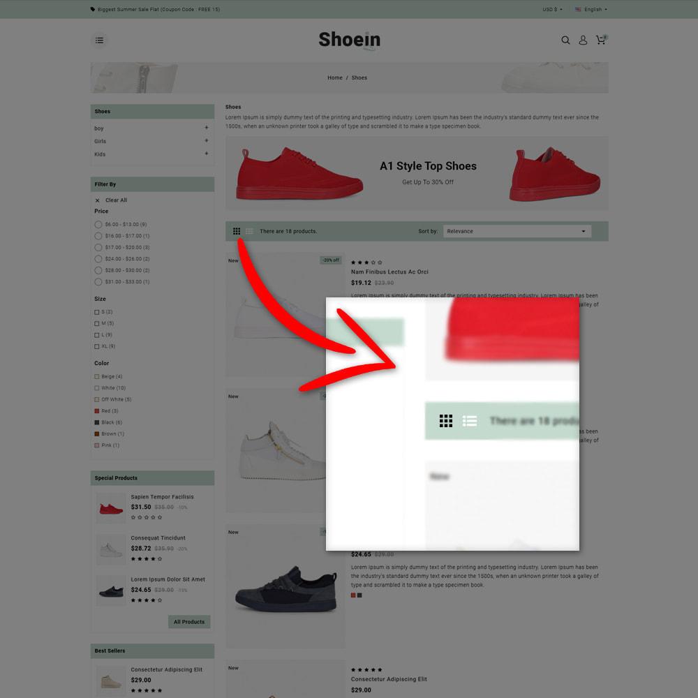 theme - Mode & Schuhe - Shoein - Shoes Store - 9