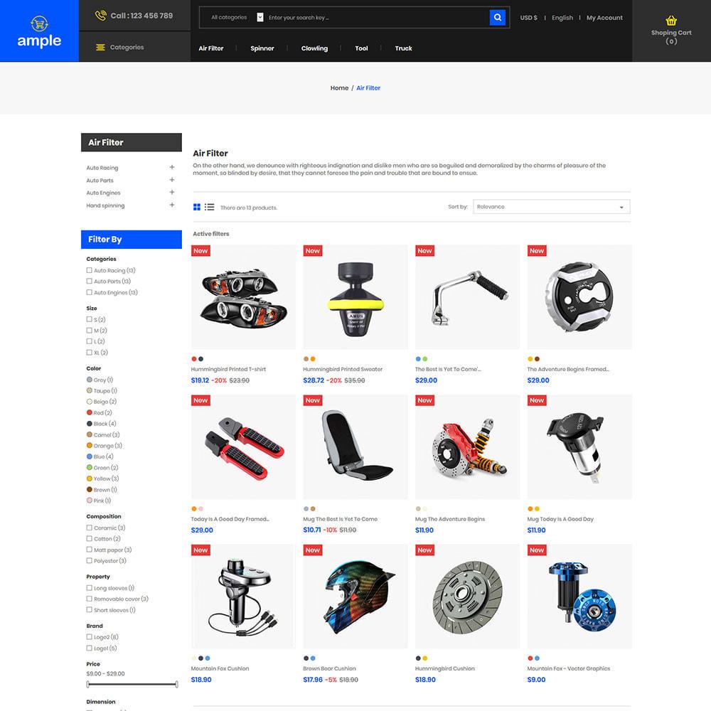 theme - Elektronika & High Tech - Electronics Mobile - Komputerowy sklep z dronami - 4