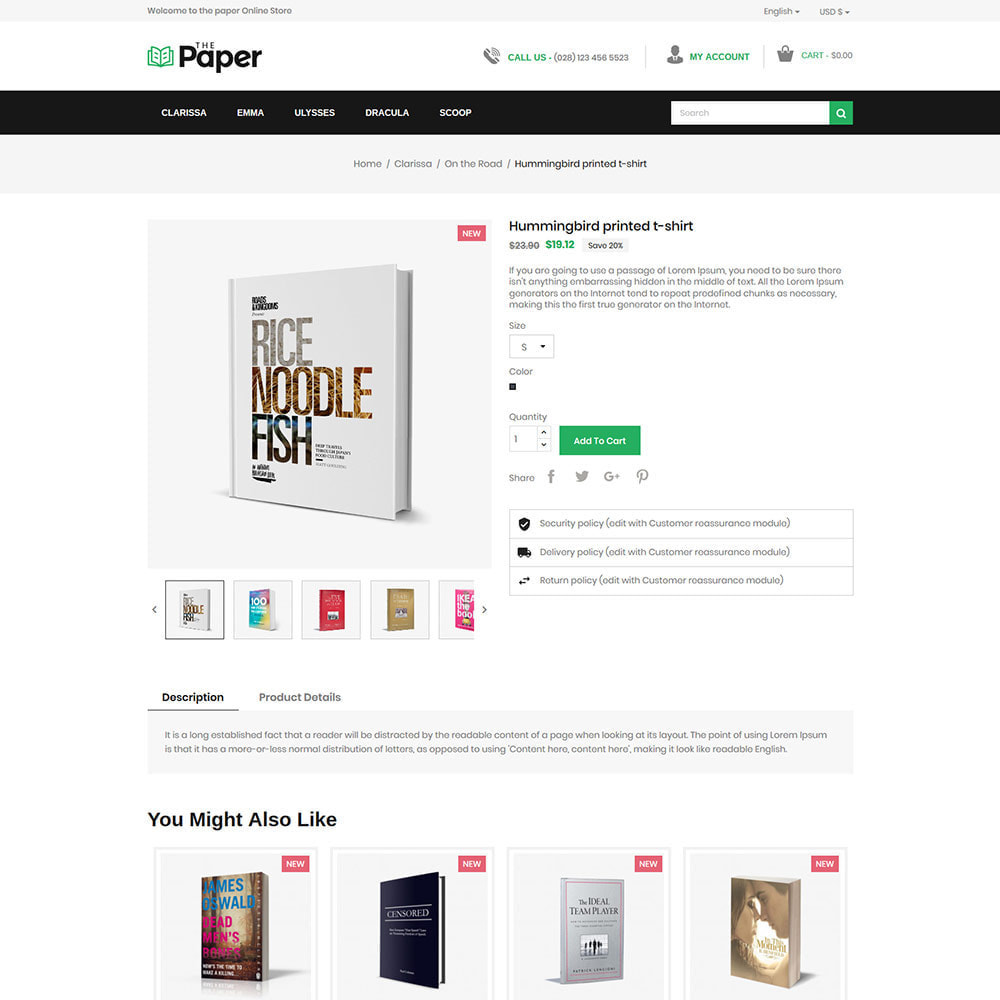 theme - Art & Culture - The Paper - Librairie - 6