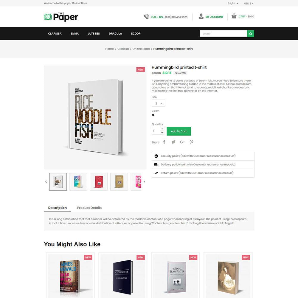 theme - Arte y Cultura - The Paper - Librería - 6