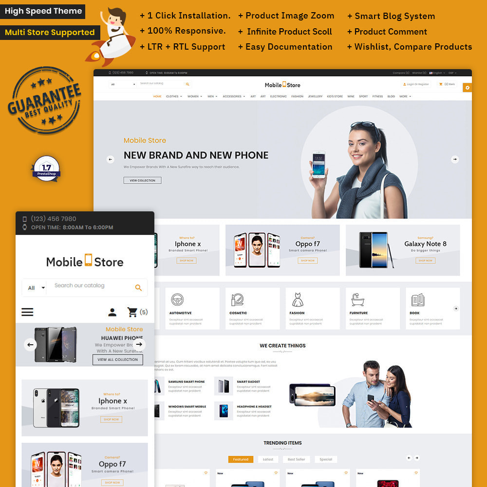 theme - Electronique & High Tech - Mobile  Store – Electronic Store - 1