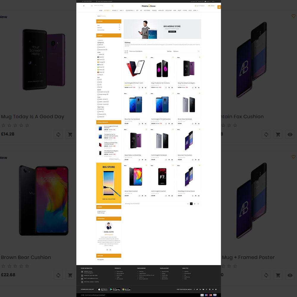theme - Electronique & High Tech - Mobile  Store – Electronic Store - 3
