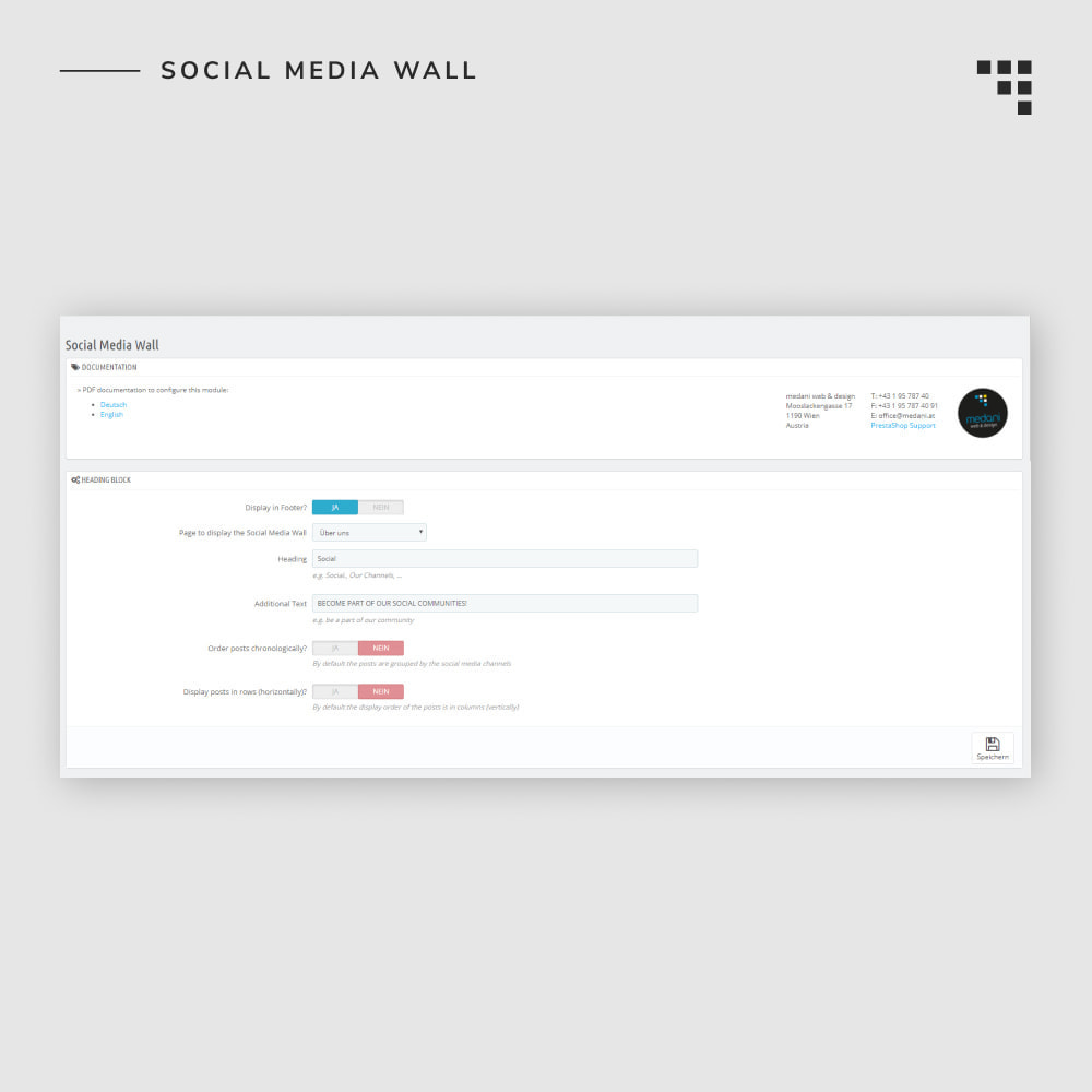 module - Products on Facebook & Social Networks - Social Media Wall - 7