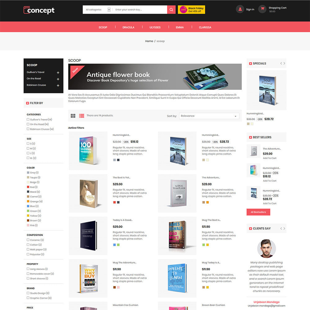 theme - Art & Culture - Concept Ebook Library - Librairie en ligne - 5