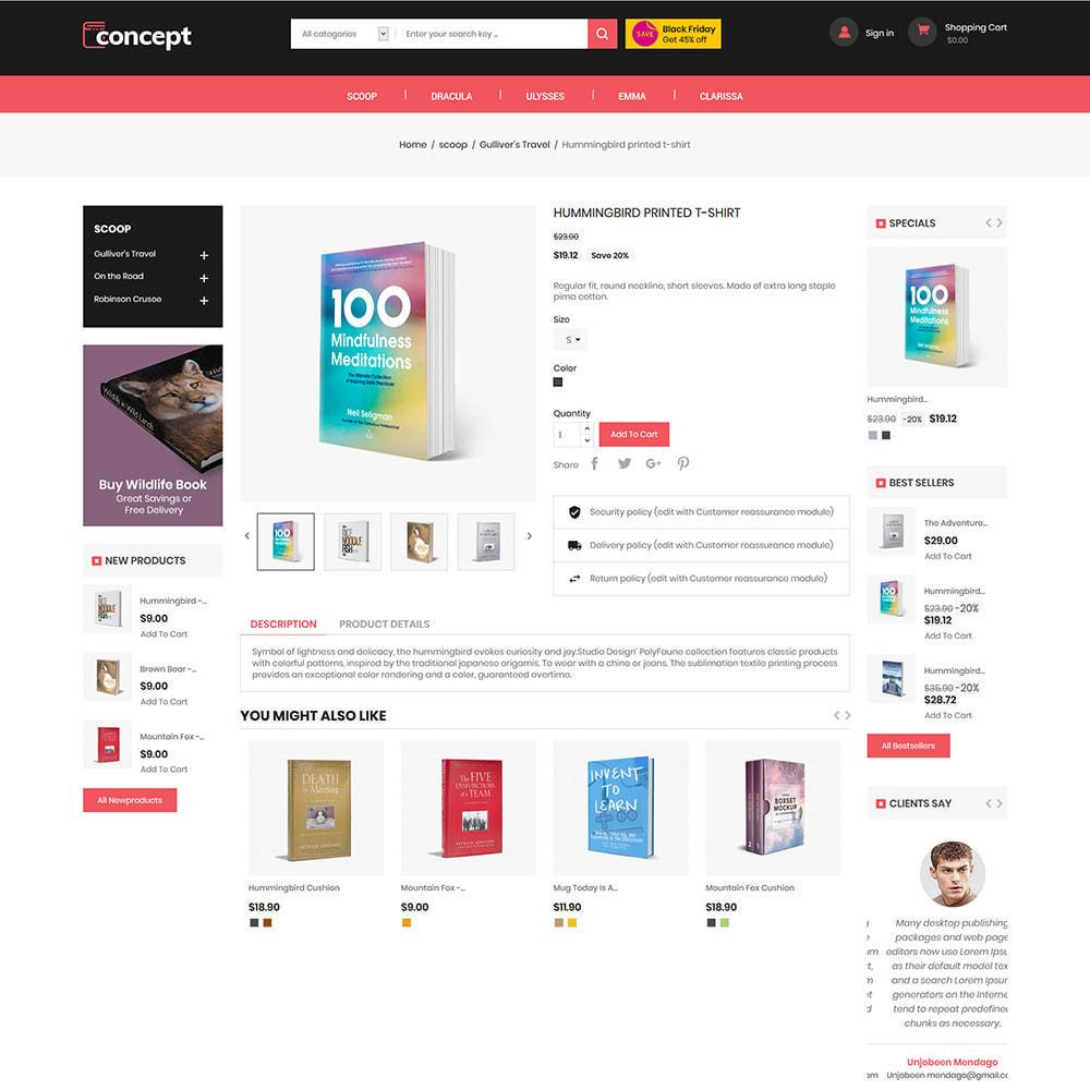 theme - Art & Culture - Concept Ebook Library - Librairie en ligne - 6