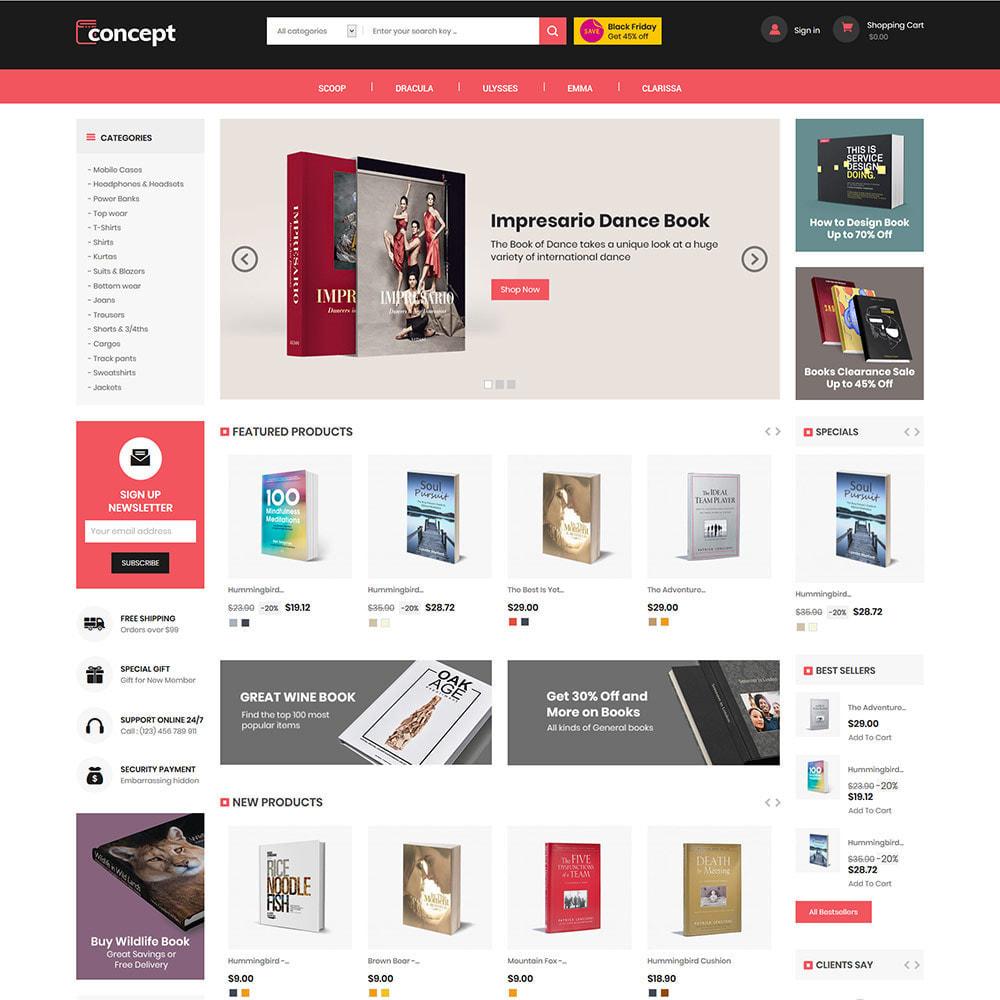 theme - Arte & Cultura - Concept Ebook Library - Negozio di libri online - 3