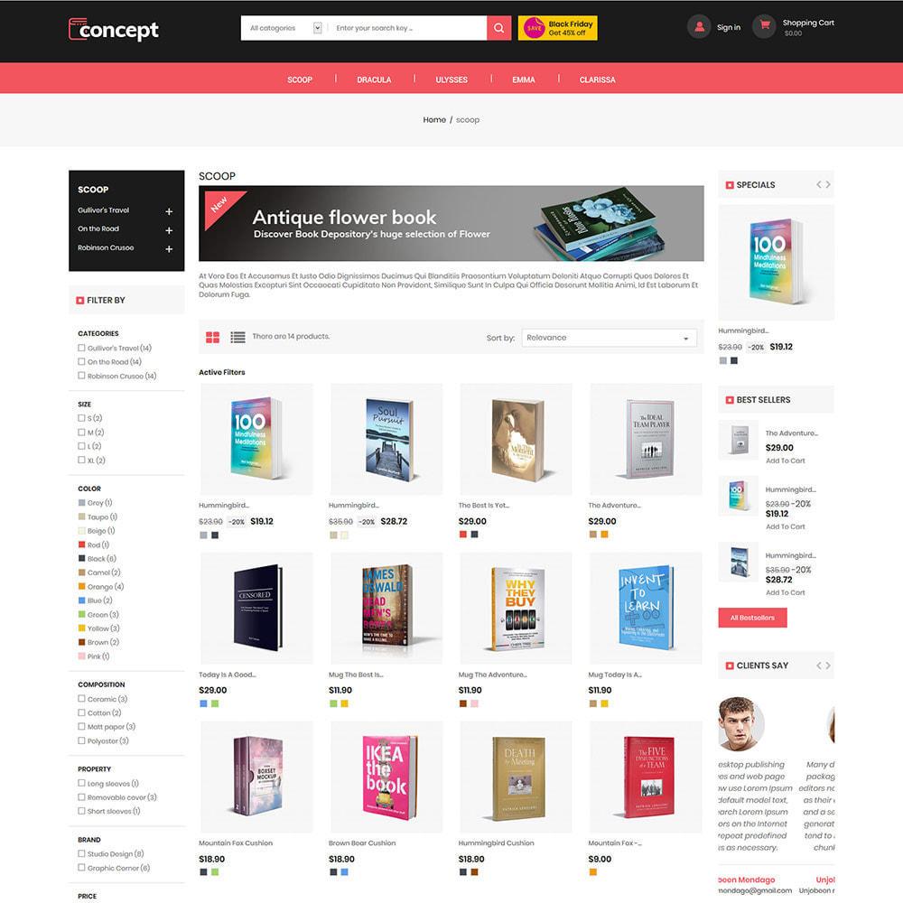 theme - Arte & Cultura - Concept Ebook Library - Negozio di libri online - 4