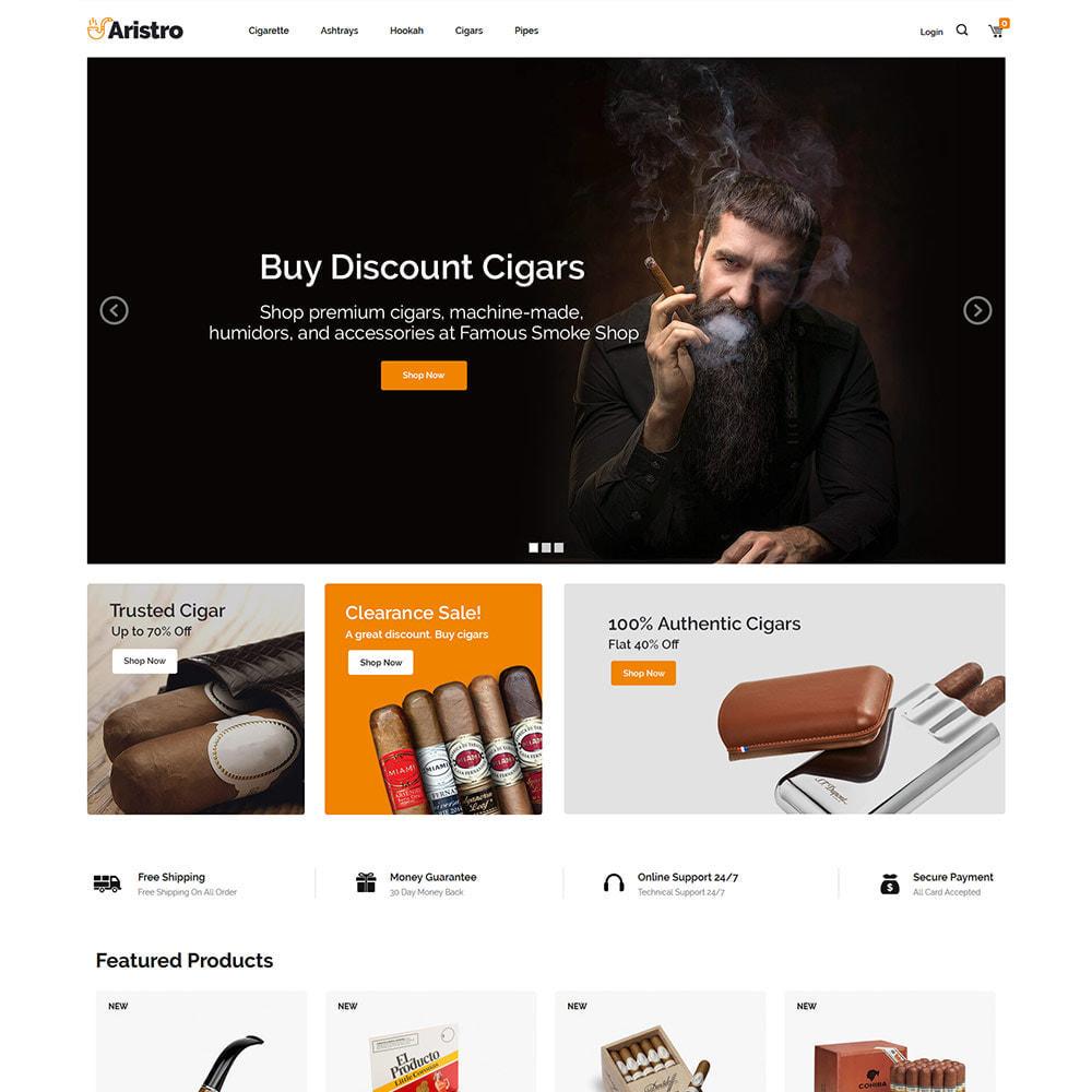 theme - Getränke & Tabak - Aristo Drink - Tabakrauch-Zigarrenladen - 3