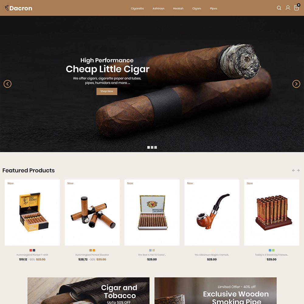 theme - Napoje & Wyroby tytoniowe - Cygaro - Napoje, Alkohole, Whisky, Sklep z tytoniem - 3