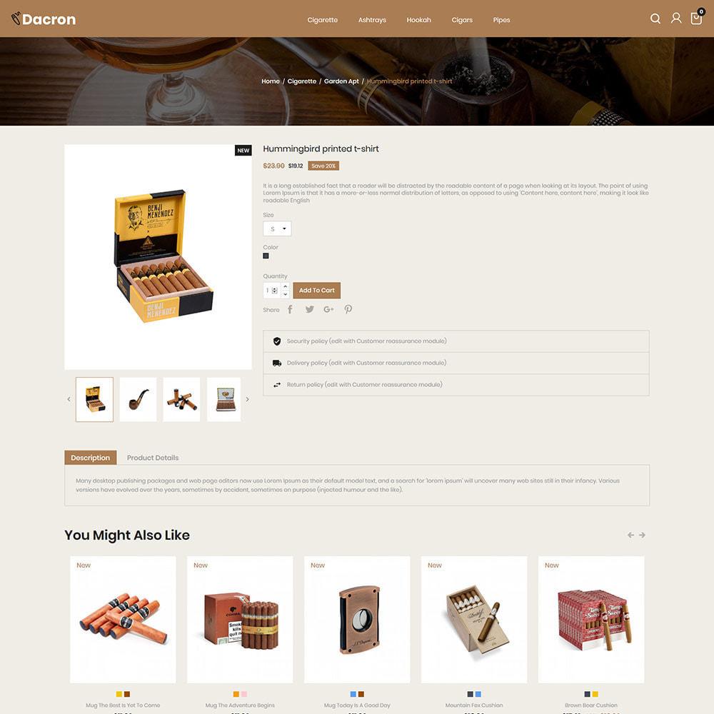 theme - Napoje & Wyroby tytoniowe - Cygaro - Napoje, Alkohole, Whisky, Sklep z tytoniem - 6
