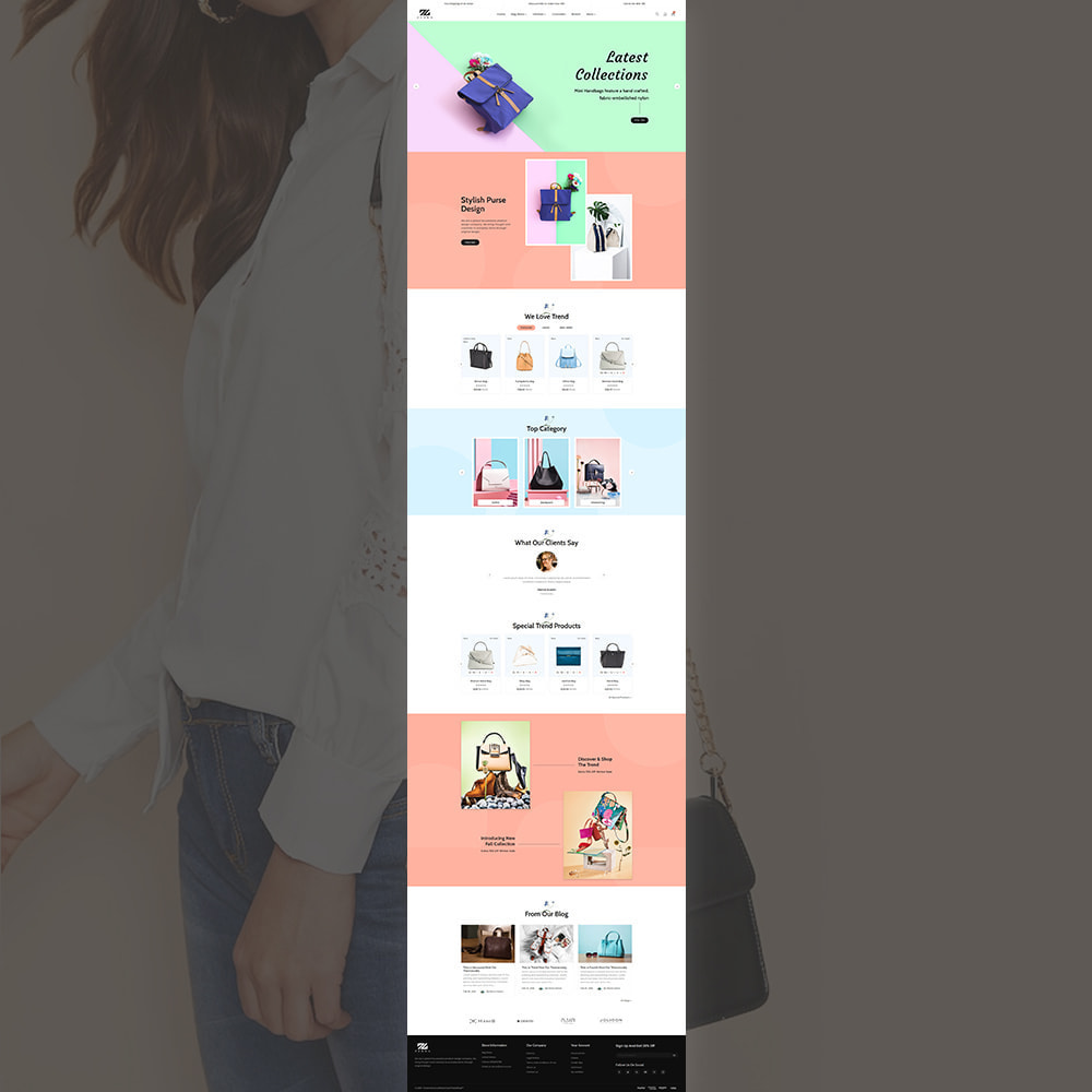 theme - Mode & Chaussures - Zebra Fashion Store - 2