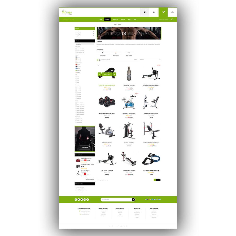 theme - Sport, Loisirs & Voyage - Fitnesslife - Gym Store - 4