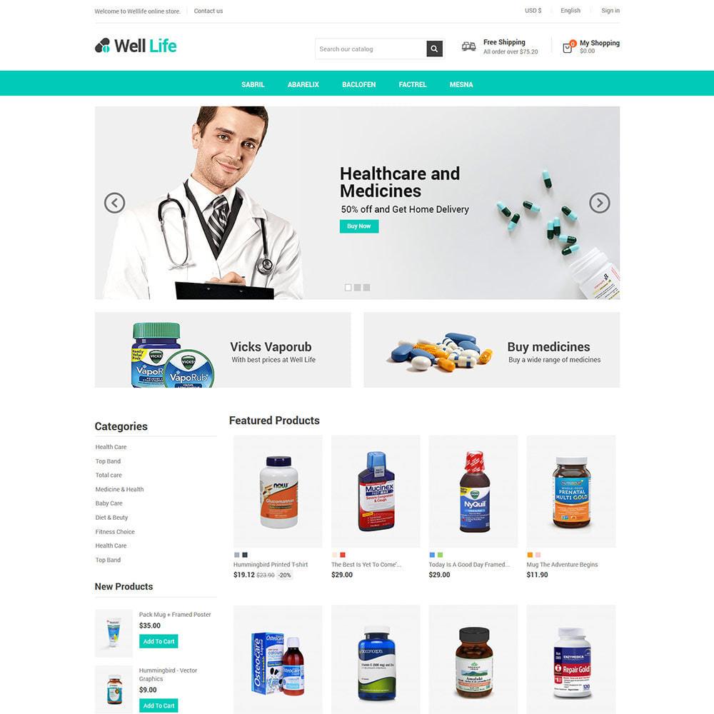theme - Santé & Beauté - Well Life - Medicine Medical Drug Pharmacy Store - 3
