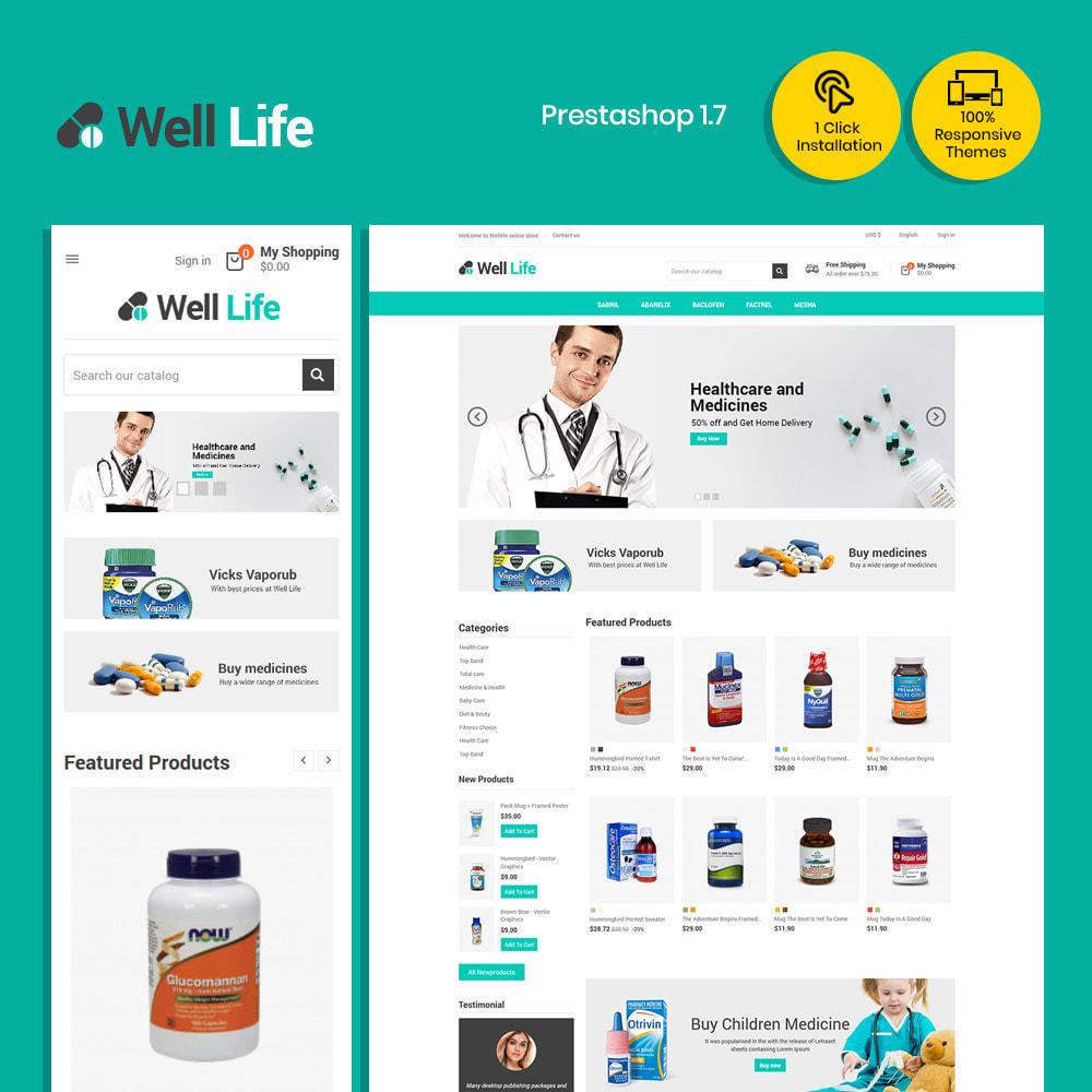 theme - Salute & Bellezza - Well Life - Medicine Medical Drug Pharmacy Store - 2