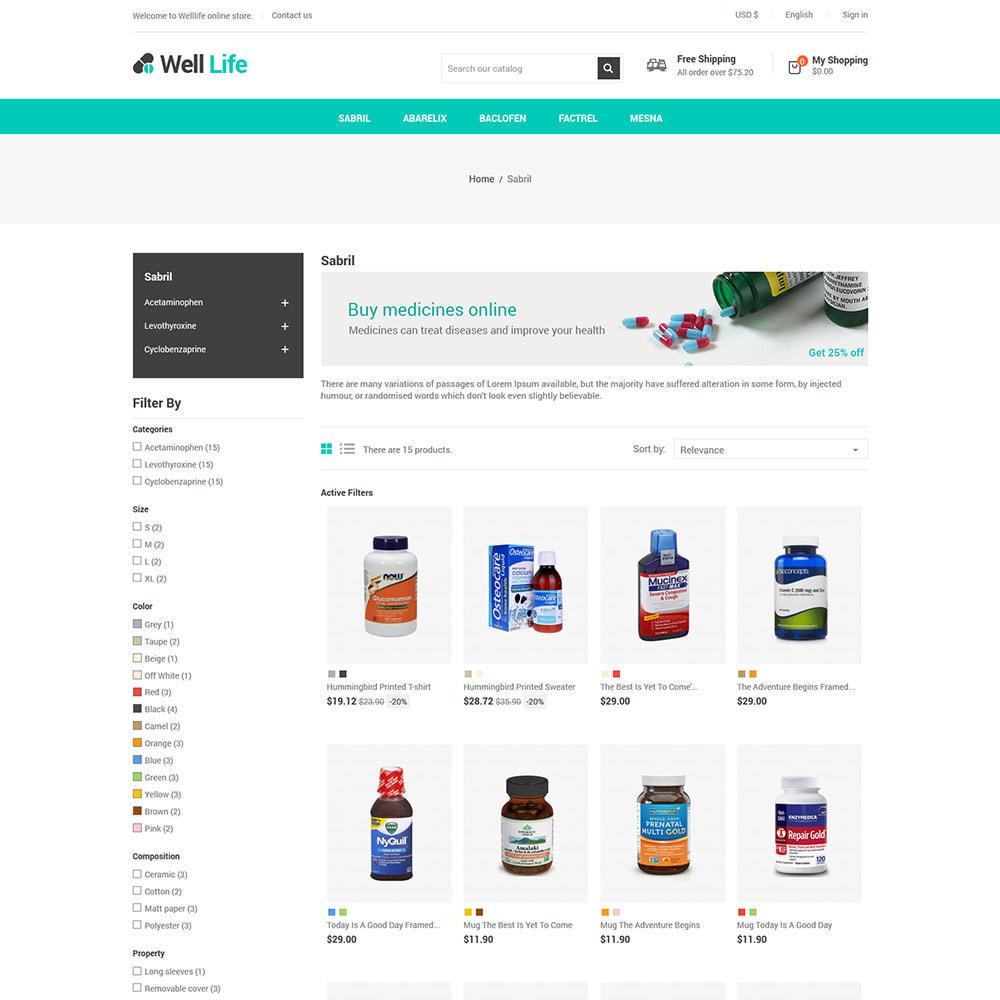 theme - Salute & Bellezza - Well Life - Medicine Medical Drug Pharmacy Store - 4