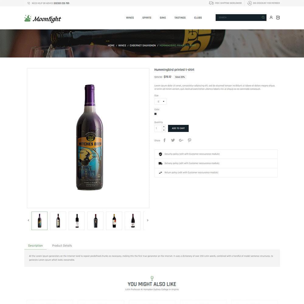theme - Boissons & Tabac - Bar à bière - Boutique de vin rouge - 6