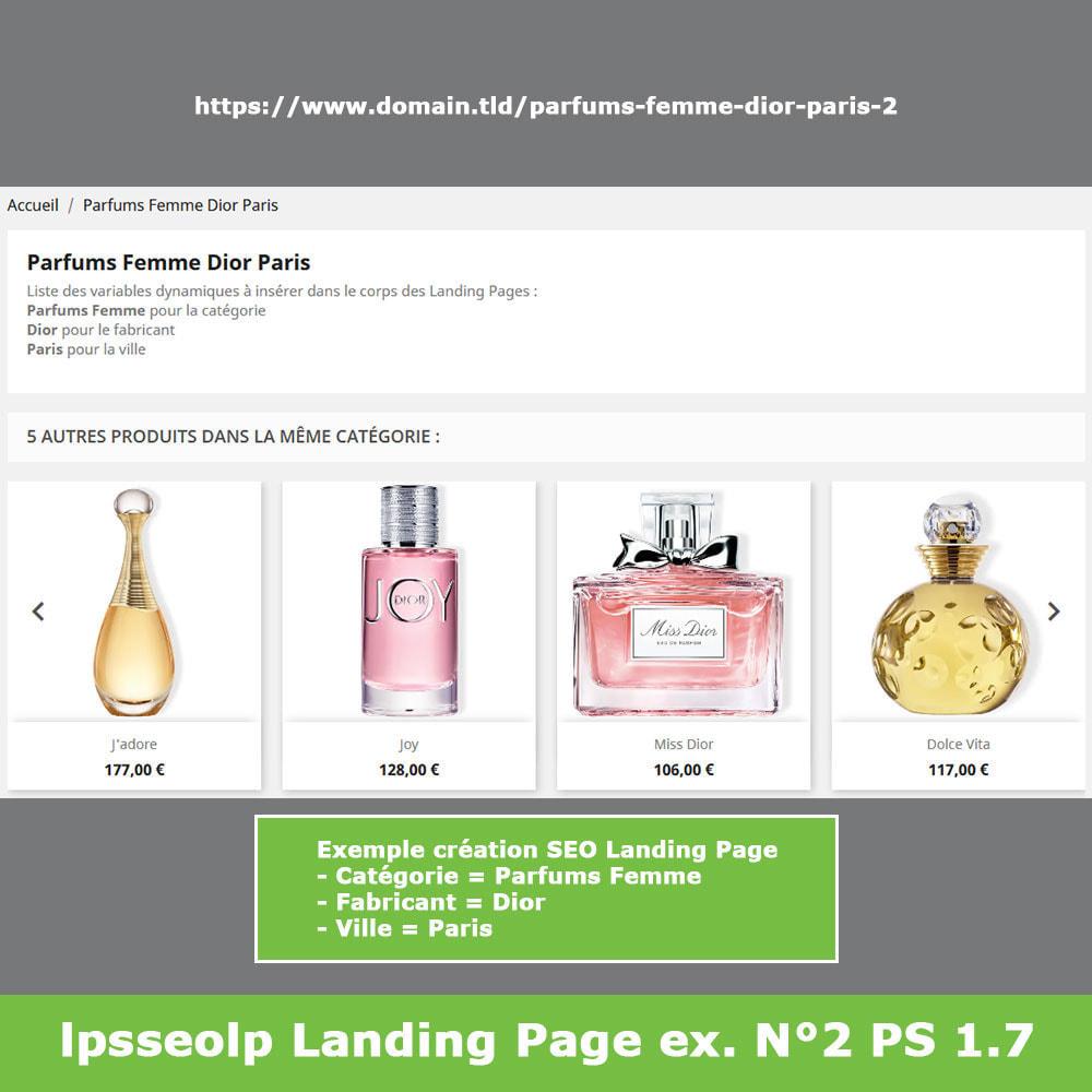module - SEO (référencement naturel) - SEO Dynamic Landing Pages - 14