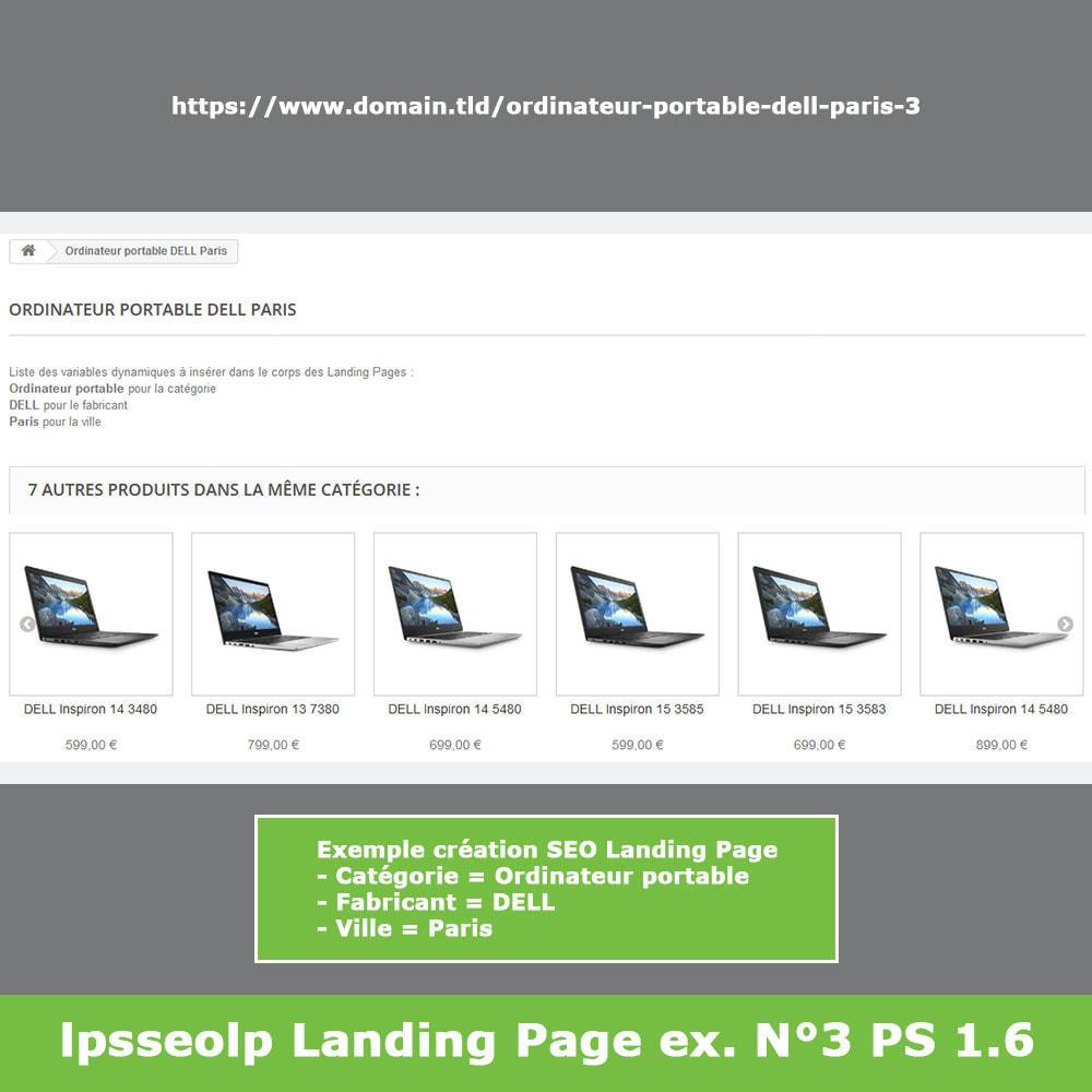 module - SEO (référencement naturel) - SEO Dynamic Landing Pages - 15