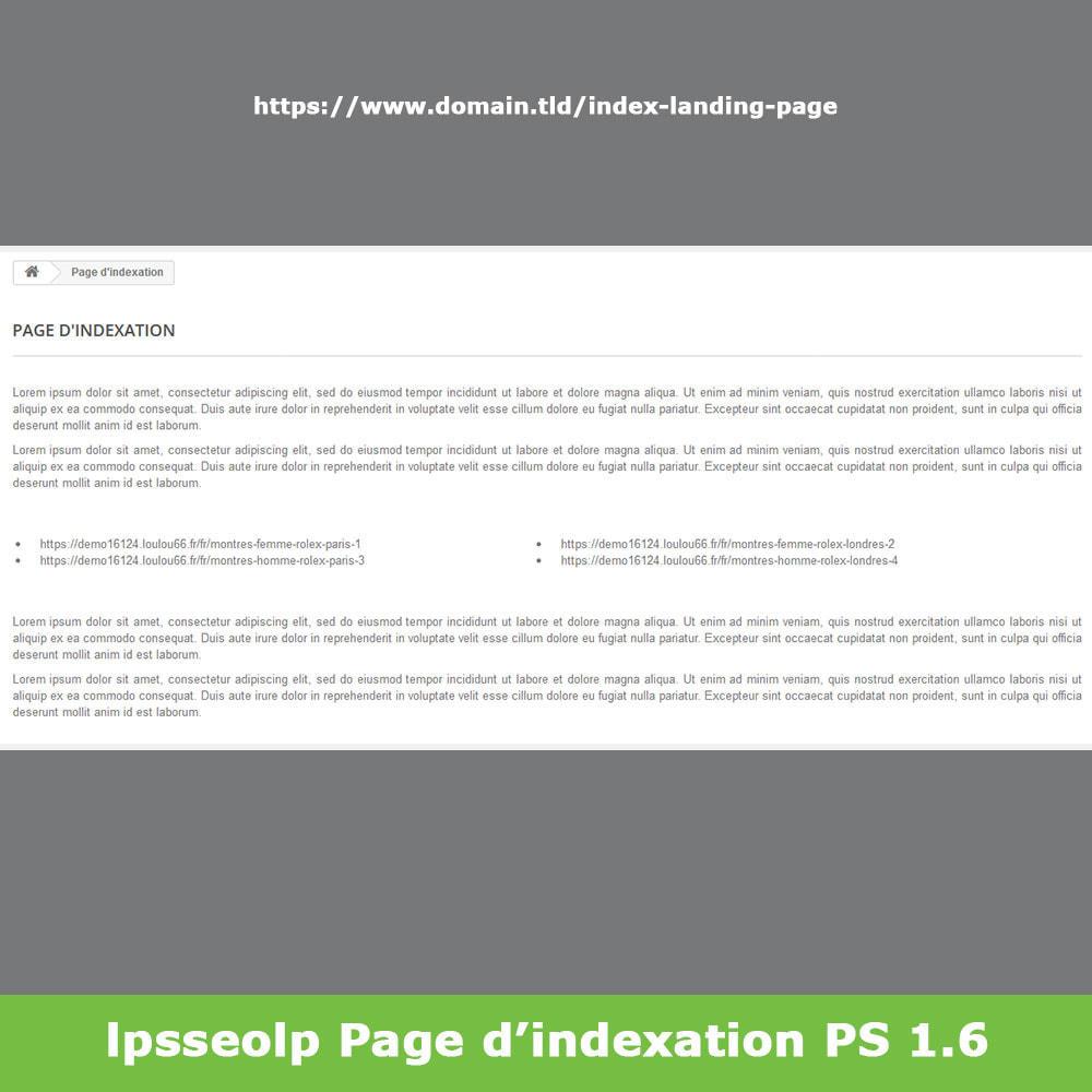 module - SEO (référencement naturel) - SEO Dynamic Landing Pages - 17