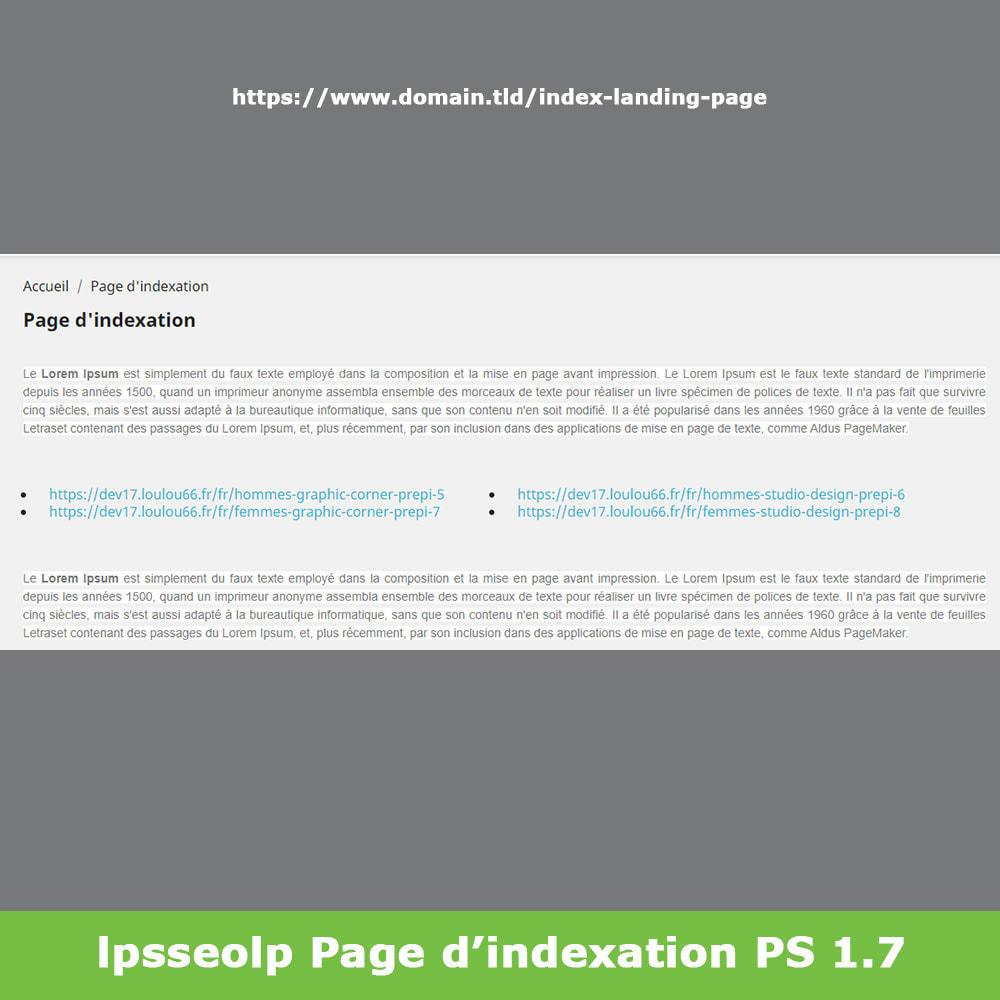 module - SEO (référencement naturel) - SEO Dynamic Landing Pages - 18