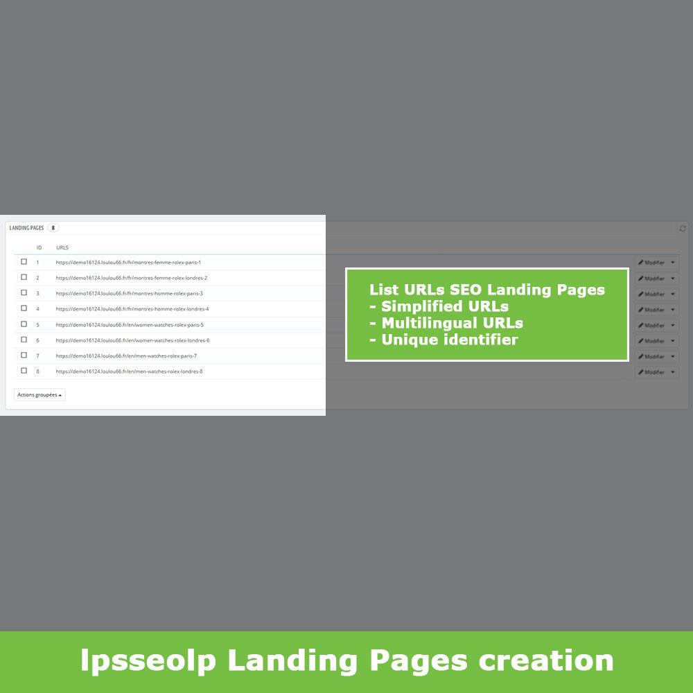 module - SEO - SEO Dynamic Landing Pages - 5