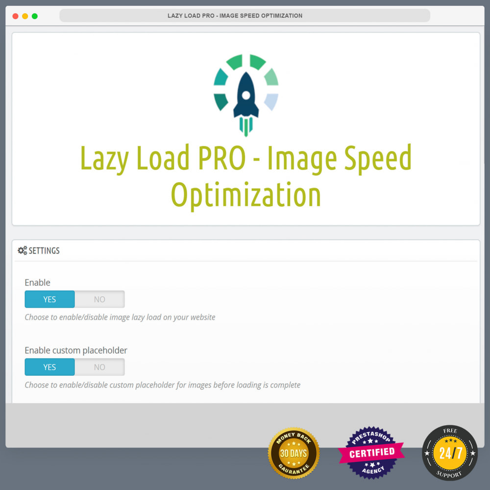 module - Website Performance - Lazy Load PRO - Image Speed Optimization - 3