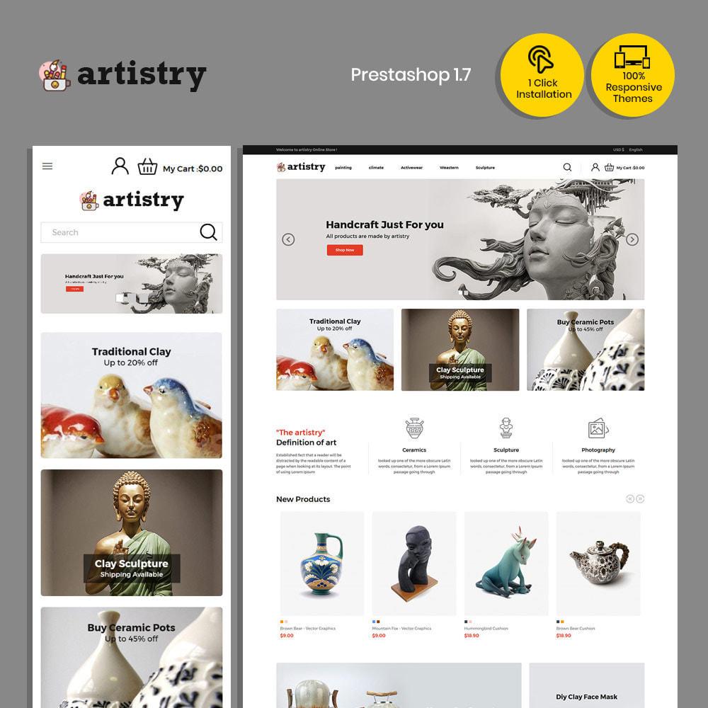 theme - Kultura & Sztuka - Artysta - sklep z farbami - 2
