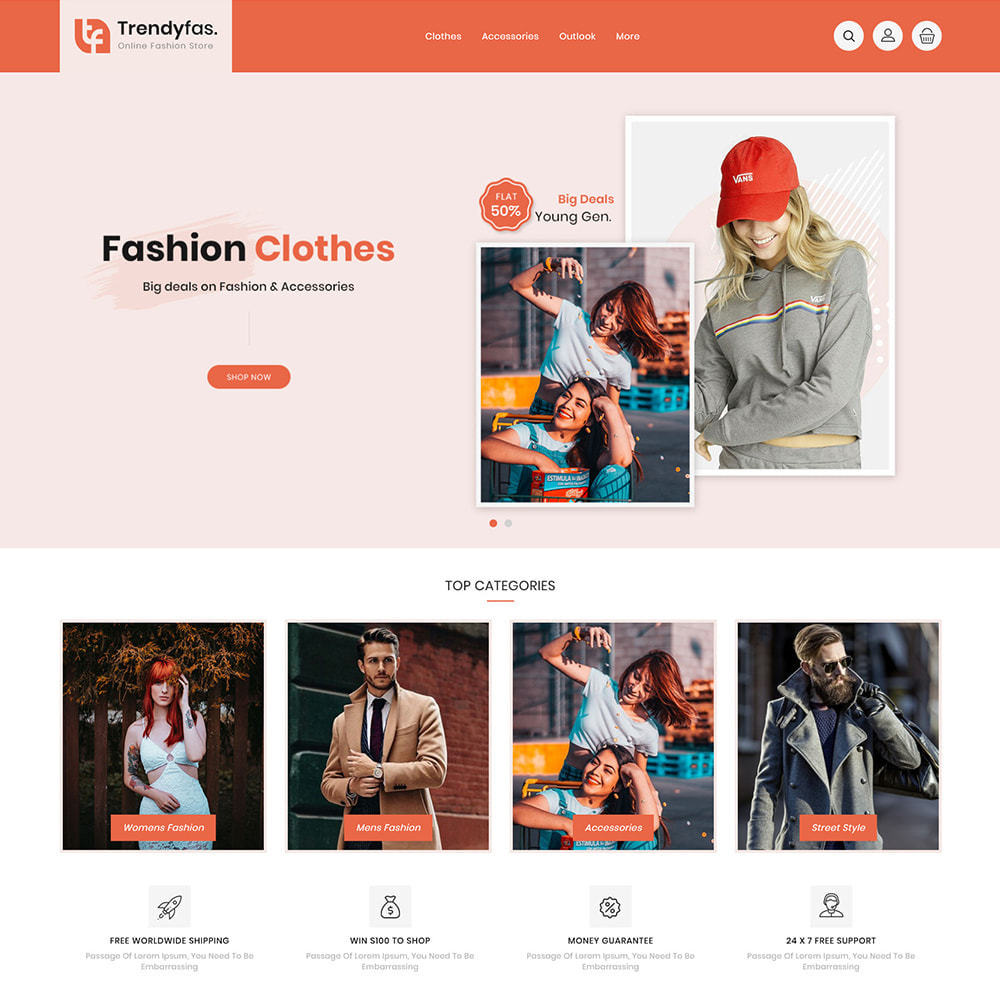 theme - Mode & Chaussures - Trendy Fashion Store - 2
