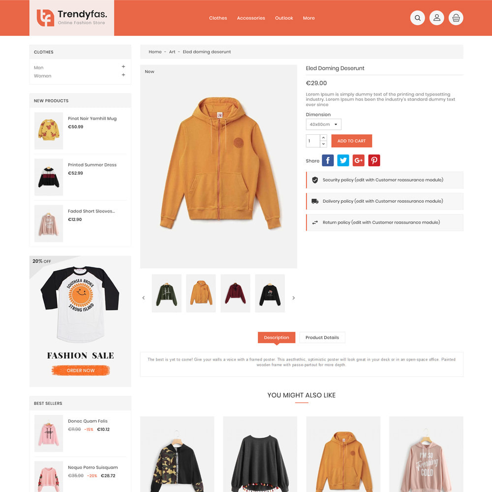 theme - Mode & Chaussures - Trendy Fashion Store - 5
