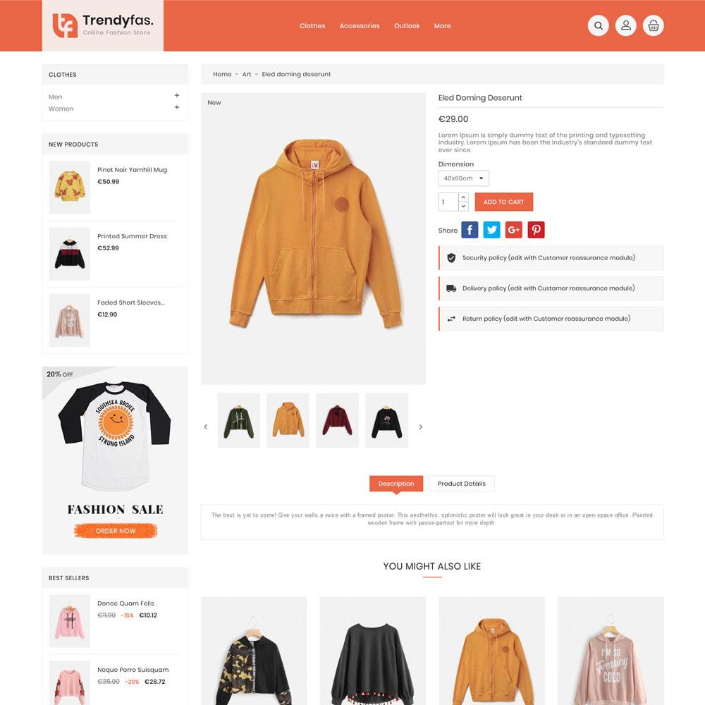 theme - Мода и обувь - Trendy Fashion Store - 5