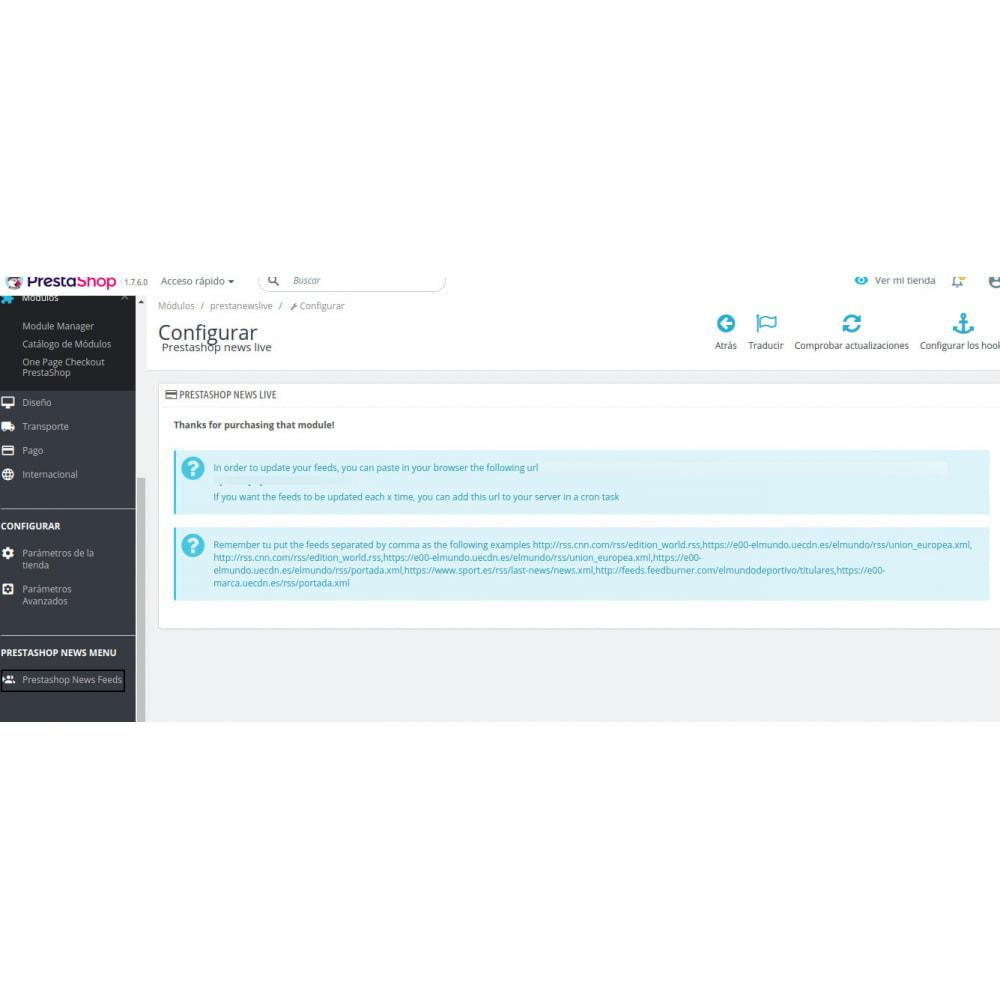 module - Blog, Forum & Nieuws - Prestanewslive - 2