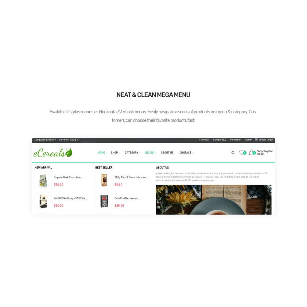 theme - Lebensmittel & Restaurants - ECereal- Beverage & Food Marketplace - 9