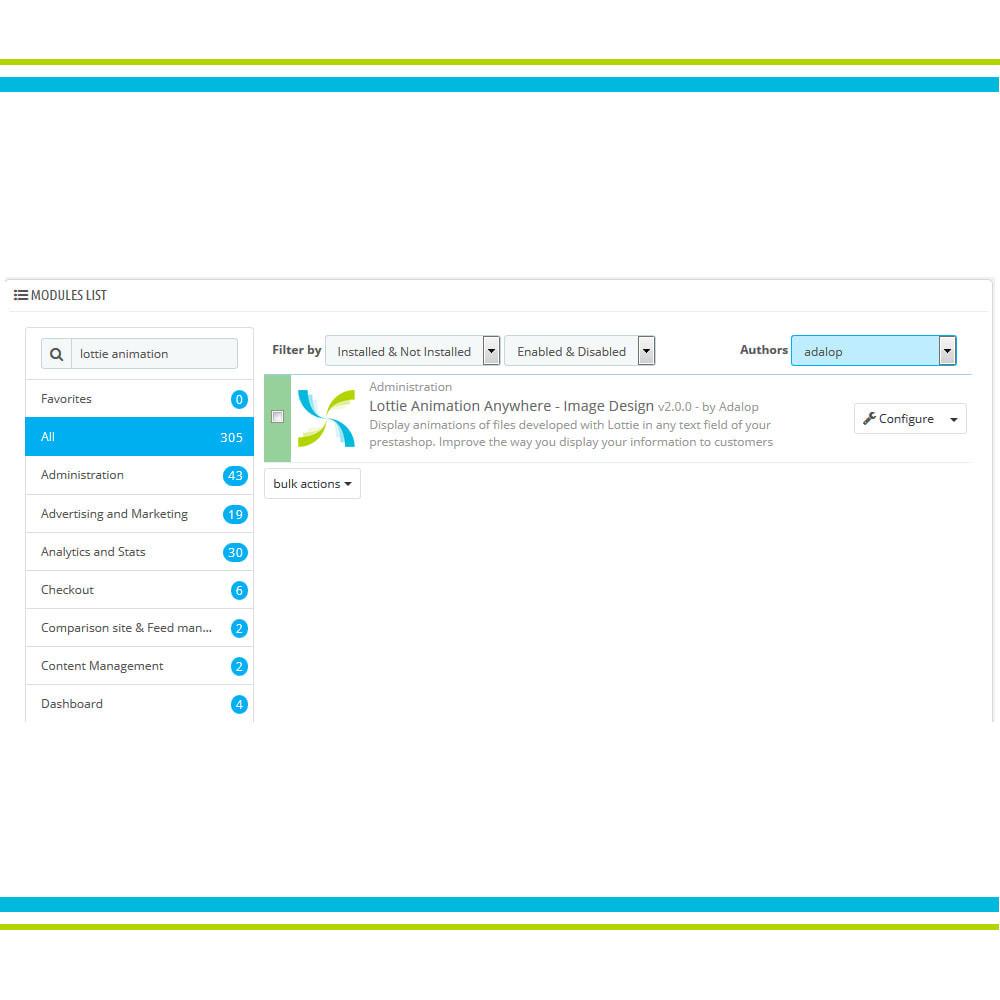 module - Personnalisation de Page - Ajouter l'animation Lottie n'importe où - Design - 2