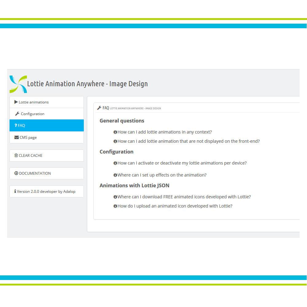 module - Personnalisation de Page - Ajouter l'animation Lottie n'importe où - Design - 6