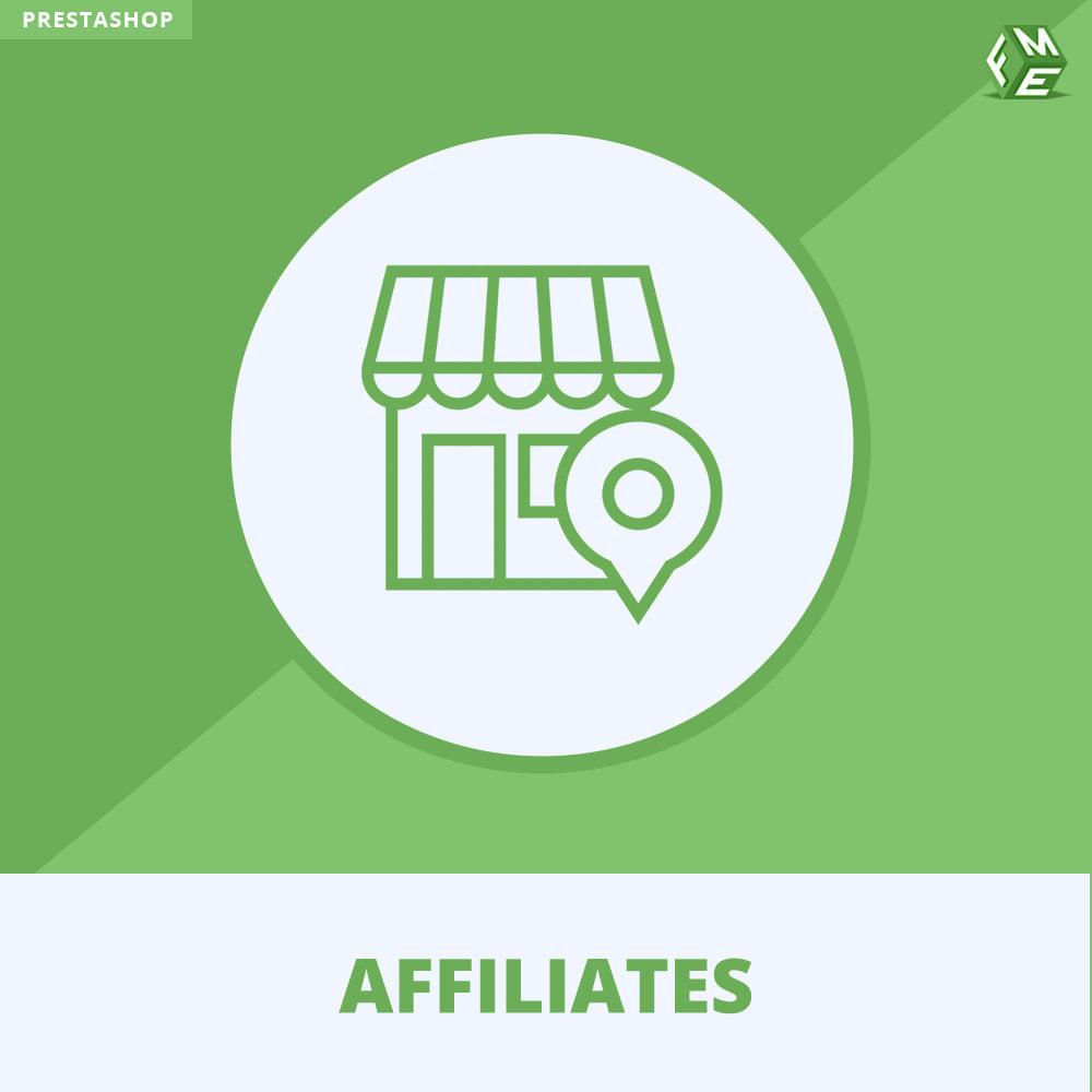 module - Référencement payant (SEA SEM) & Affiliation - Affiliés, Gestion de programme d'affiliation anticipée - 1