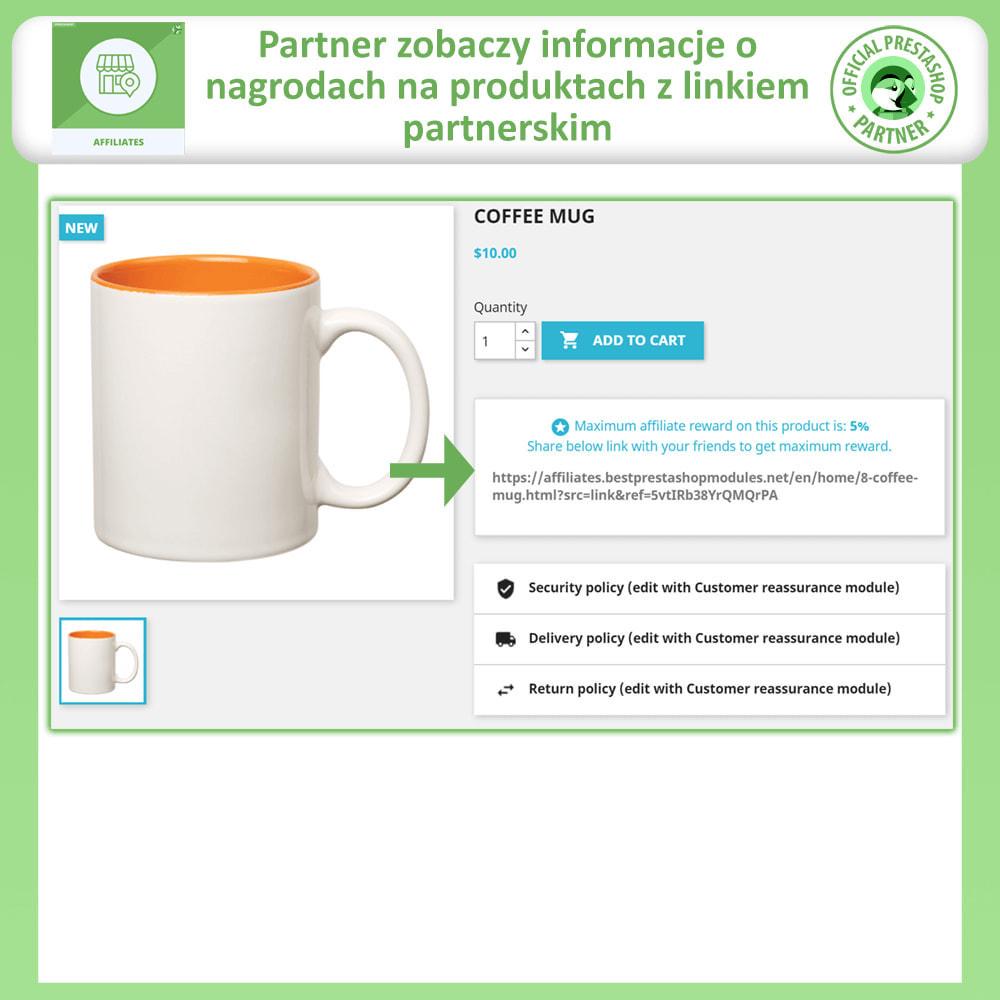 module - Płatne pozycjonowanie & Afiliacja - Program Partnerski i Polecający - 4