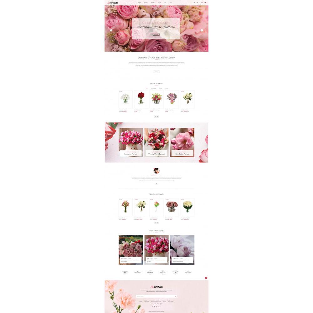 theme - Prezenty, Kwiaty & Uroczystości - Orchid - Flower Market - 2
