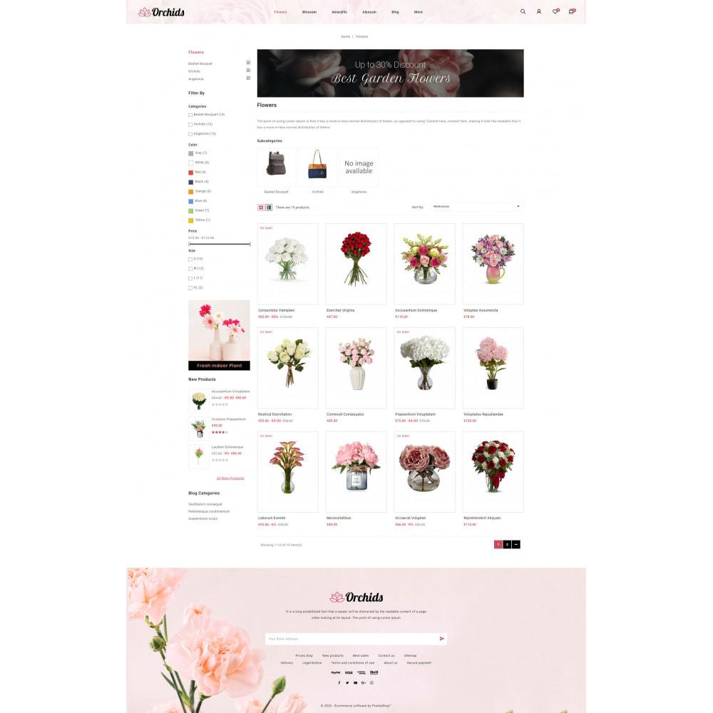 theme - Prezenty, Kwiaty & Uroczystości - Orchid - Flower Market - 3