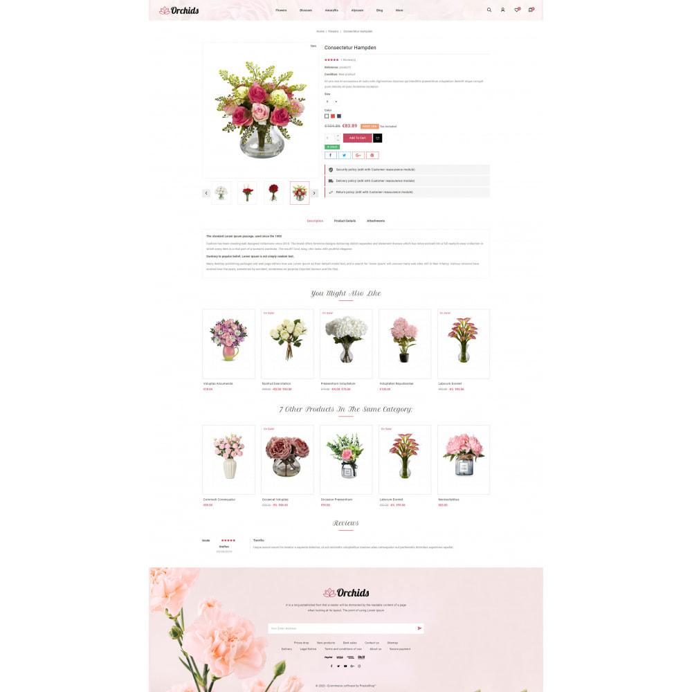 theme - Prezenty, Kwiaty & Uroczystości - Orchid - Flower Market - 5