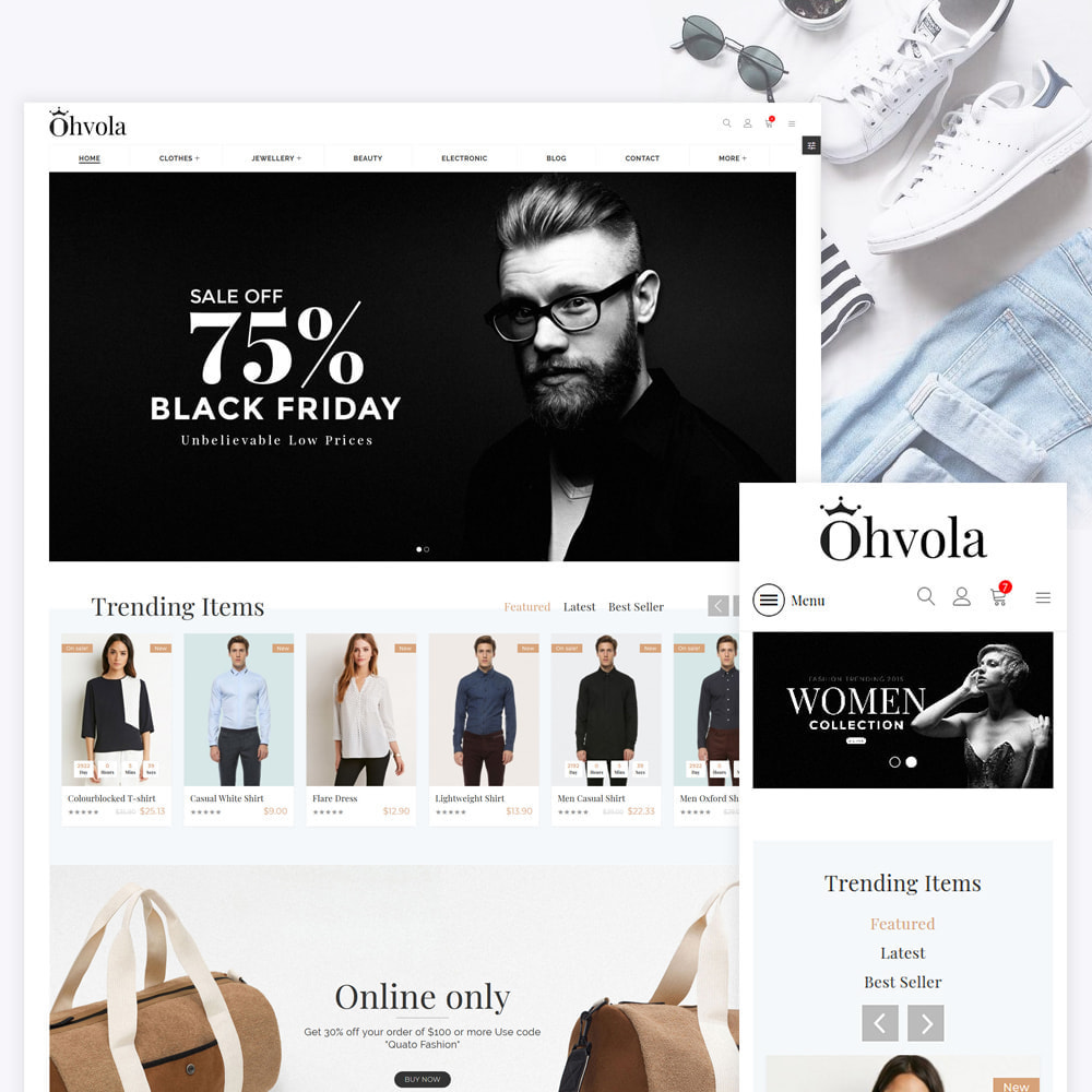theme - Mode & Schuhe - Ohvola Fashion Store - 1