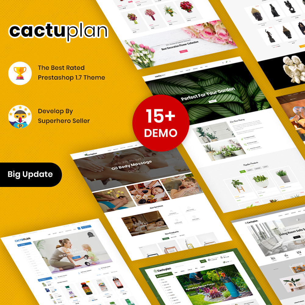 theme - Home & Garden - Cactuplan - Multipurpose Store - 1