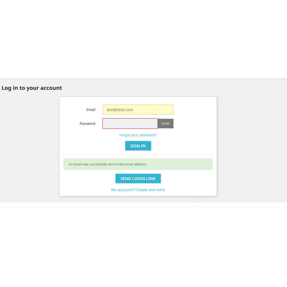 module - Herramientas Administrativas - Super User - Secure and Easy Customer Login - 1