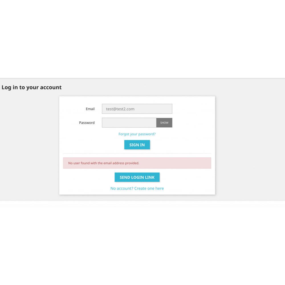 module - Herramientas Administrativas - Super User - Secure and Easy Customer Login - 3