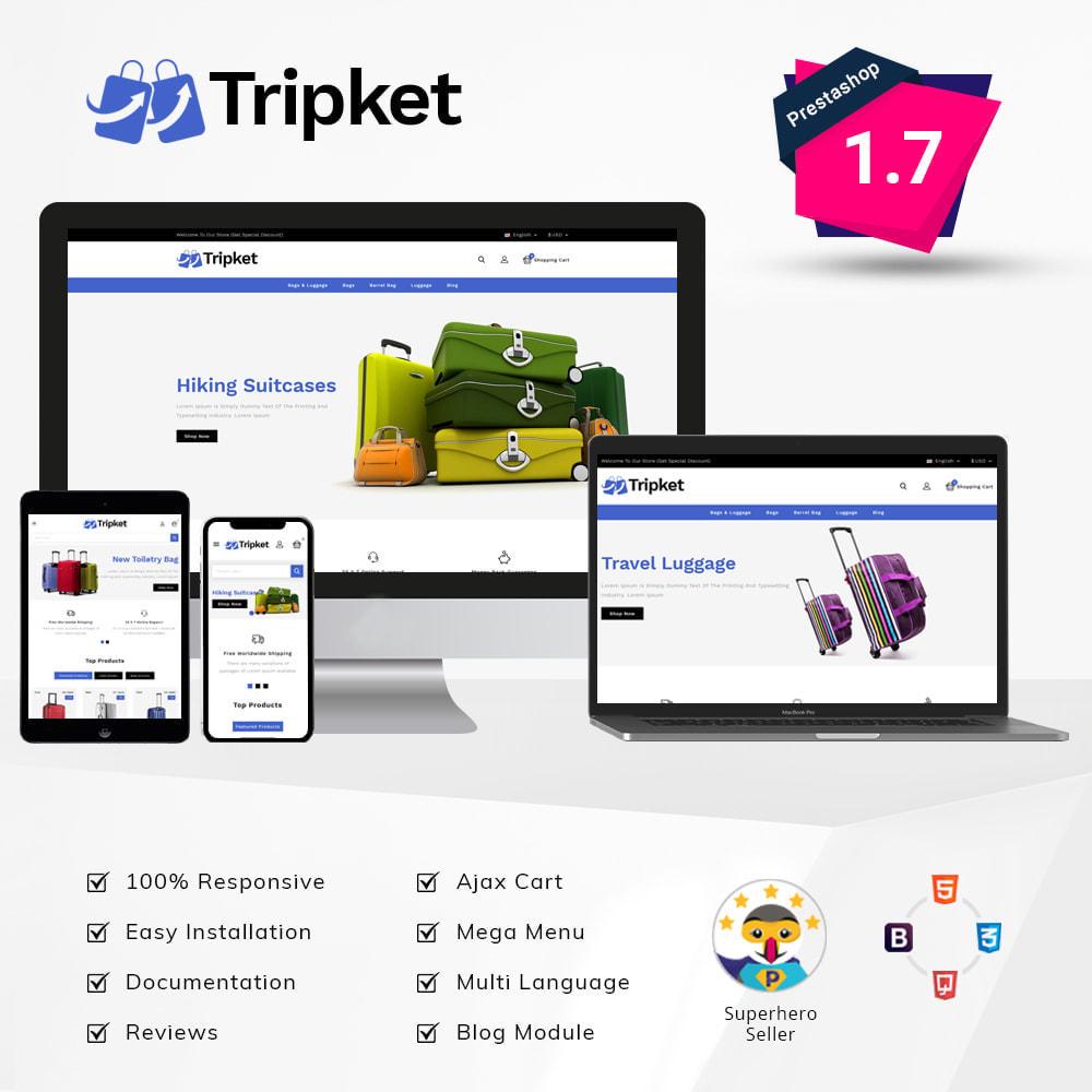 theme - Fashion & Shoes - Tripket - Bag Shop - 1