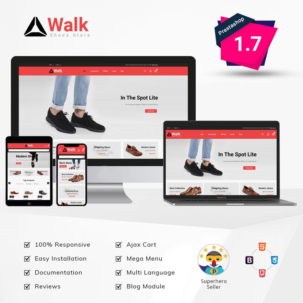 theme - Fashion & Shoes - Walk - Shoes Store - 1
