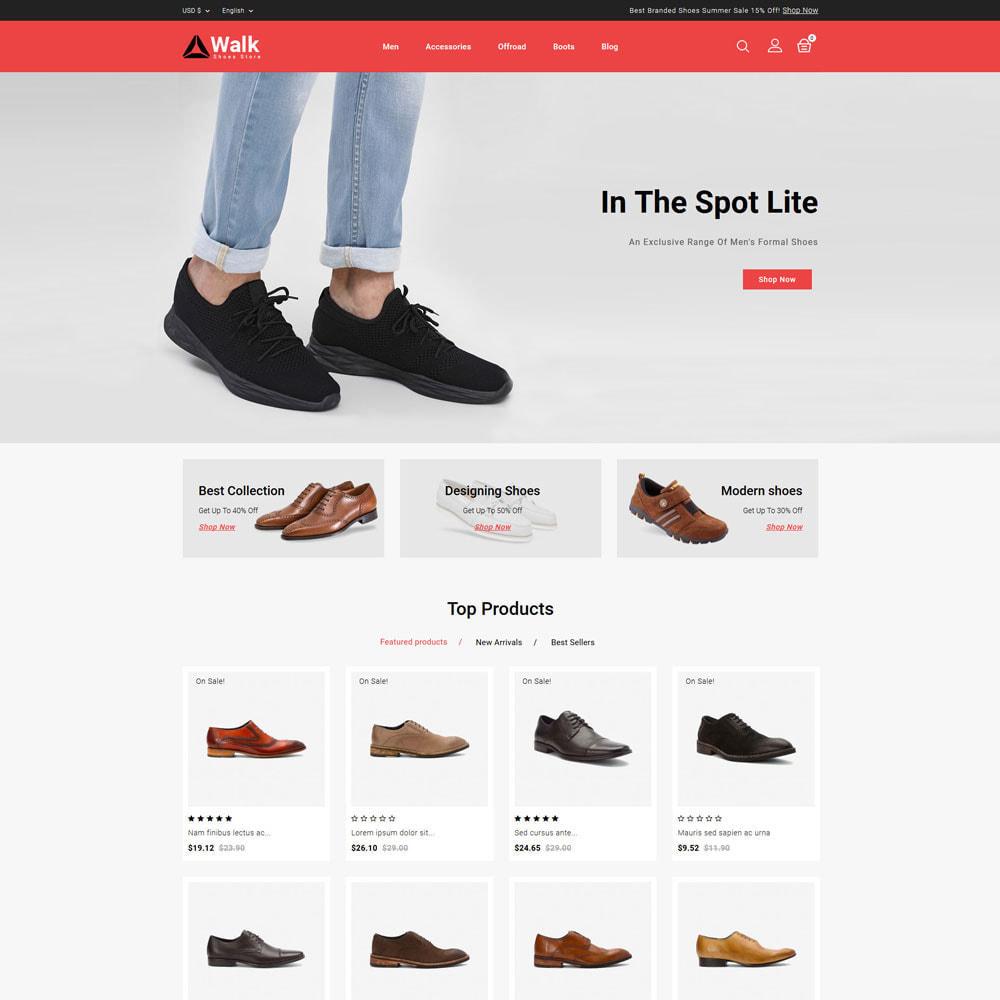 theme - Fashion & Shoes - Walk - Shoes Store - 2