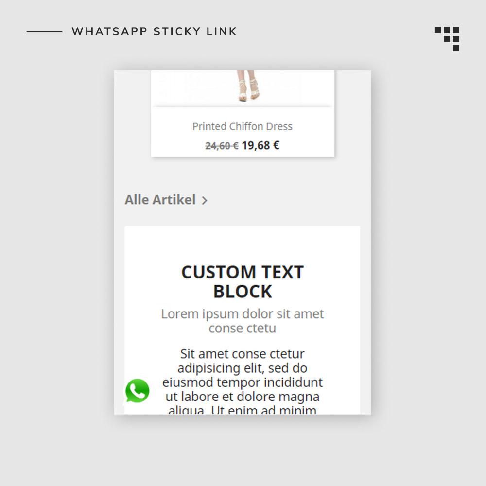 module - Dispositivos móviles - WhatsApp Sticky Link - 4