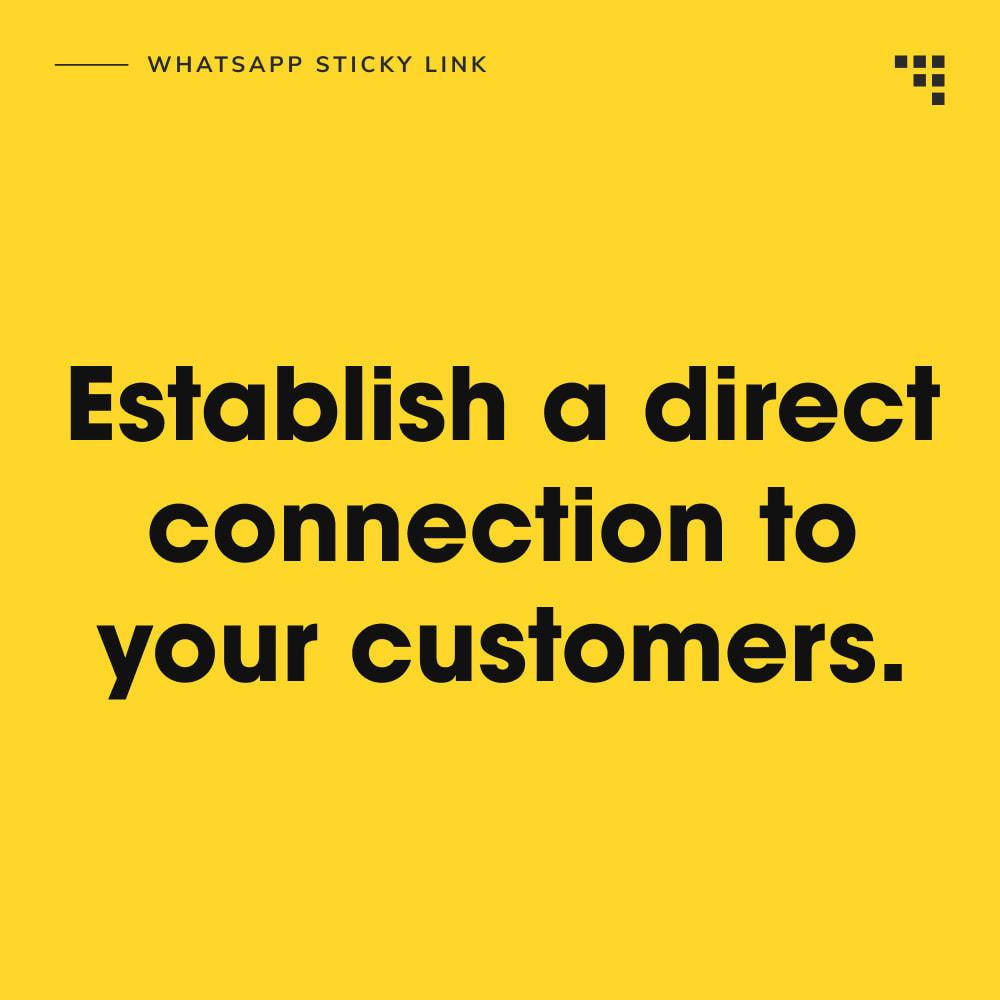 module - Dispositivos móviles - WhatsApp Sticky Link - 7